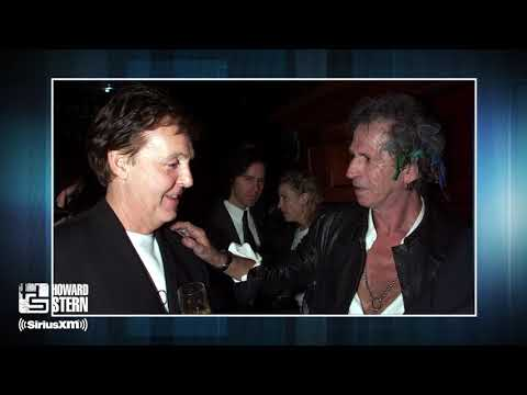 Howard Asks Paul McCartney Who's the Better Band: Beatles or Rolling Stones?