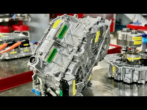 High Voltage Hybrid Systems - Ford Fusion HF-35 Hybrid Transaxle Electrical Operation