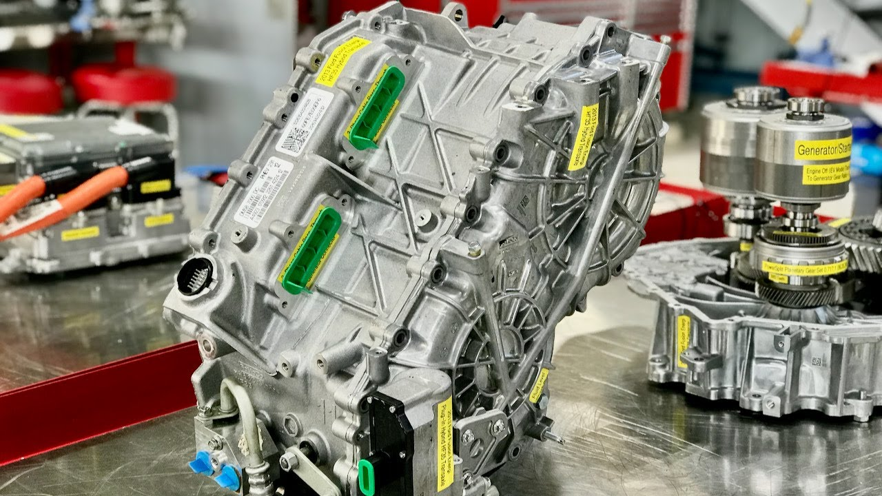 high voltage hybrid systems ford fusion hf 35 hybrid transaxle electrical operation [ 1280 x 720 Pixel ]