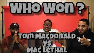 Tom MacDonald vs Mac Lethal Rap Beef (REACTION) ‼️