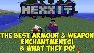 HEXXIT: The Best Armour & Weapon Enchantments & What They Do!