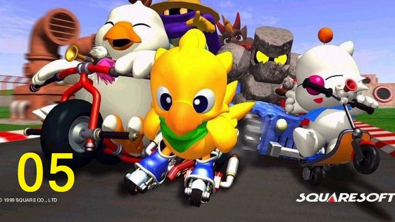 [Cùng chơi đua xe gà (Chocobo Racing)][Grand Prix] – Phần 5: Chubby Chocobo + Dash (Random courses)