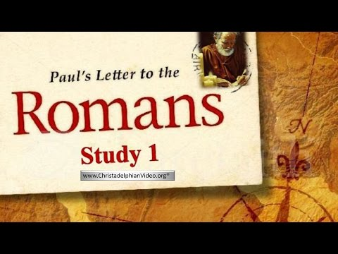 Paul's Letter To The Romans Study -Neville Clark