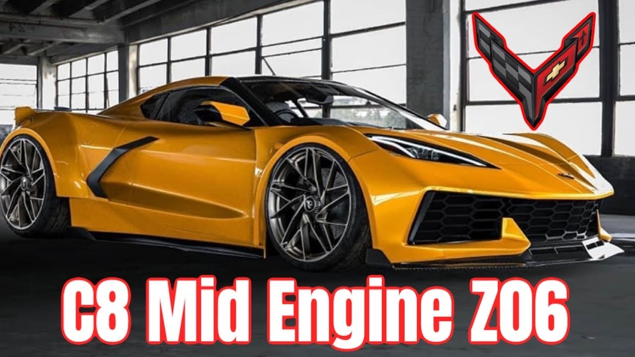 my 2021 chevy corvette c8 z06 mid engine build mid engine
