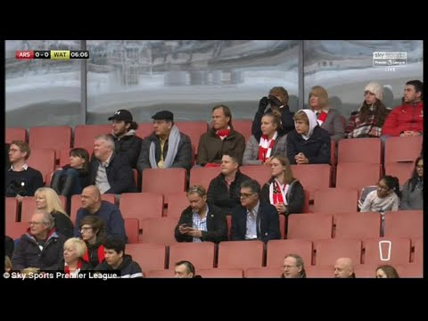 Empty seats and empty dreams was not Arsenal's vision for the Emirates Stadium and fed-up fans