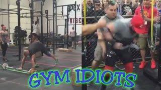 gym idiots arnold classic 825 lb squat fail crossfit cheating