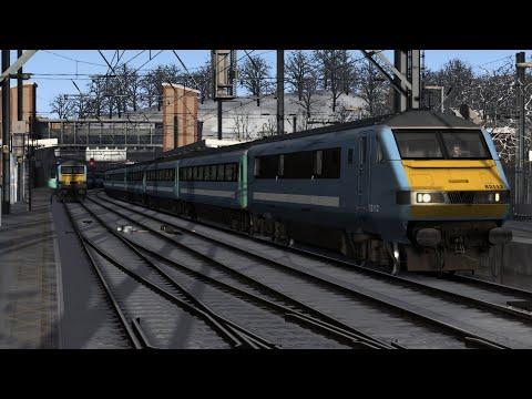 Train Simulator 2020: London Liverpool Street - Ipswich, Anglia 82112/90010, GEML