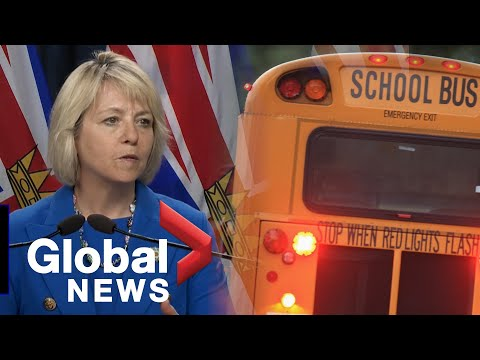 Coronavirus: B.C. officials unveil return-to-school plan for September