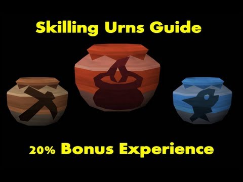 Runescape Urns Guide 2013 - 20% Bonus XP In 6 Skills [F2P And P2P]