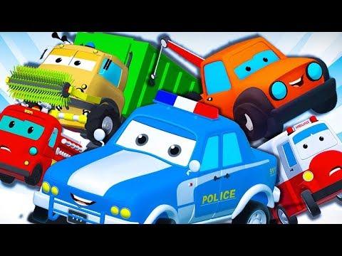 Road Rangers | Super Car Royce | Monster Truck Dan + More Vehicle Videos for Children | Car Cartoon