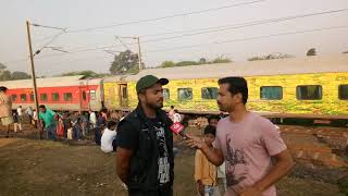 Rajdhani accident in sajeli
