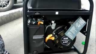 Генератор бензиновый HYUNDAI IC200 4 х такт. 2,5 кВт смотреть