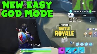 How to WIN EVERY GAME Of Horde Rush LTM using this GOD MODE glitch! (Fortnite Glitches)