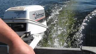 1988 Johnson 6/8hp outboard motor
