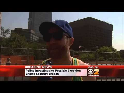 Police Investigating Mysterious White Flags On Brooklyn Bridge