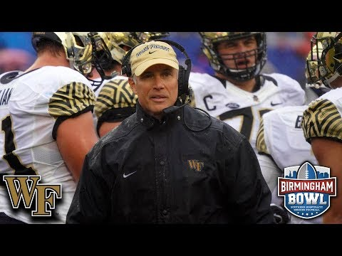 Wake Forest Is Birmingham Bowl Bound