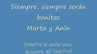 Marta y Anìn (Juana y Sergio) - Karaoke by Franção