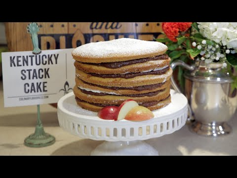 Bourbon & Biscuits: Kentucky Stack Cake & Fall Fashioned