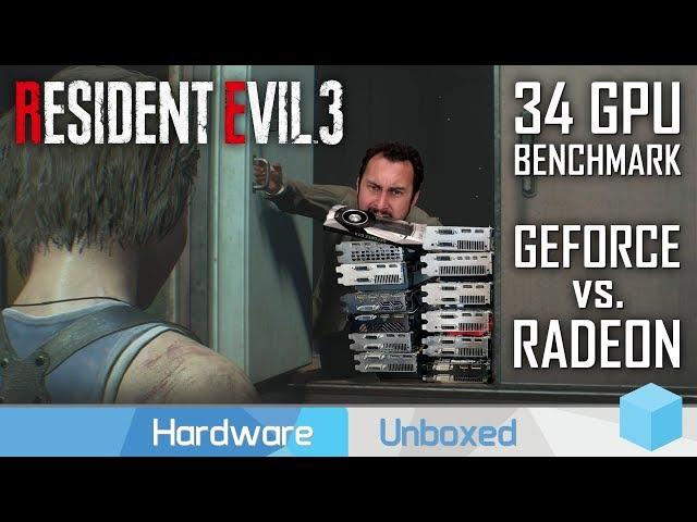 Resident Evil 3, Mega GPU Benchmark