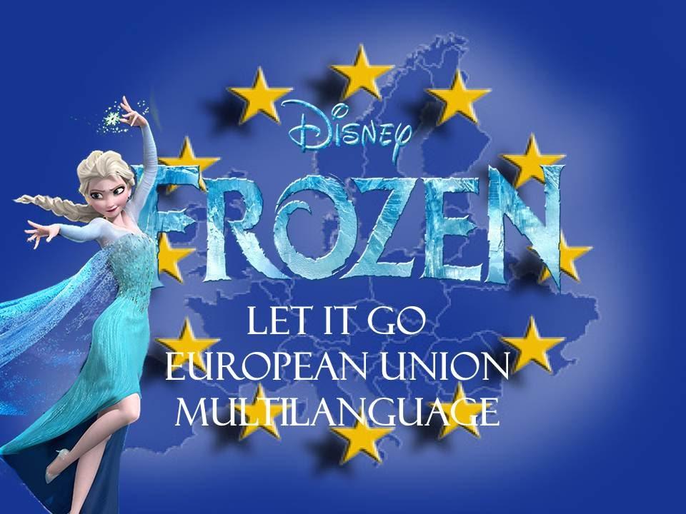 Lyric frozen let it go lyrics : Frozen -Let It Go- European Union Multilanguage - YouTube