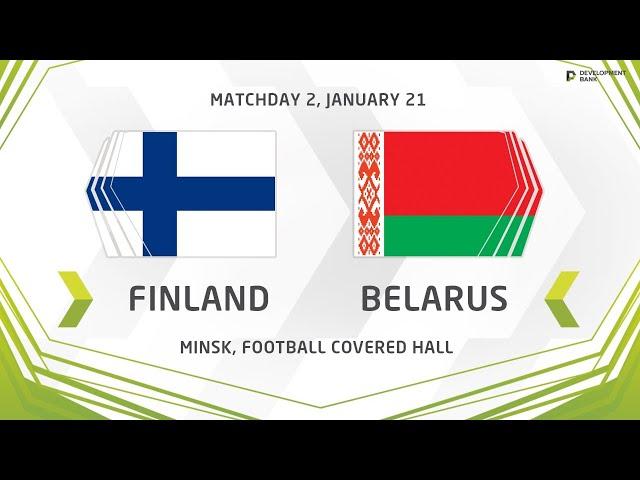 Development сup 2020. Finland vs Belarus