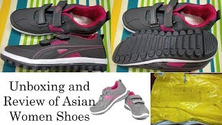 Unboxing and Review of Asian Women Shoes