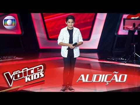 Allexandre Nunes canta 'Vai Me Perdoando' na Audição – The Voice Kids Brasil | 2ª Temporada