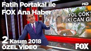 2 güvenlik görevlisi göçüğün altında kaldı! 2 Kasım 2018 Fatih Portakal ile FOX Ana Haber