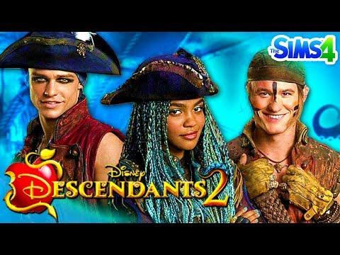 DESCENDANTS 2 - Sims 4 Create a Sim | Disney's Descendants 2