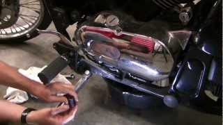How to change motorcycle oil,  Kawasaki Vulcan