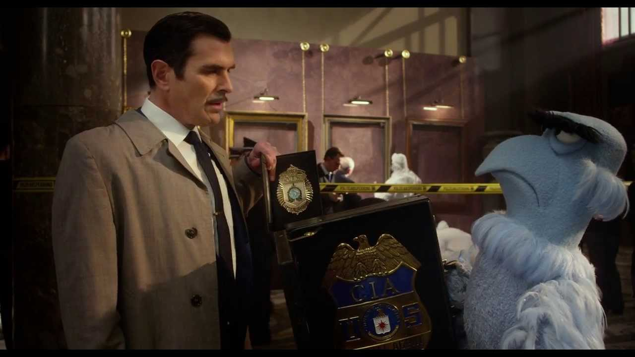 Badge Envy   Movie Clip   Ty Burrell & Sam The Eagle   Muppets Most Wanted    The Muppets