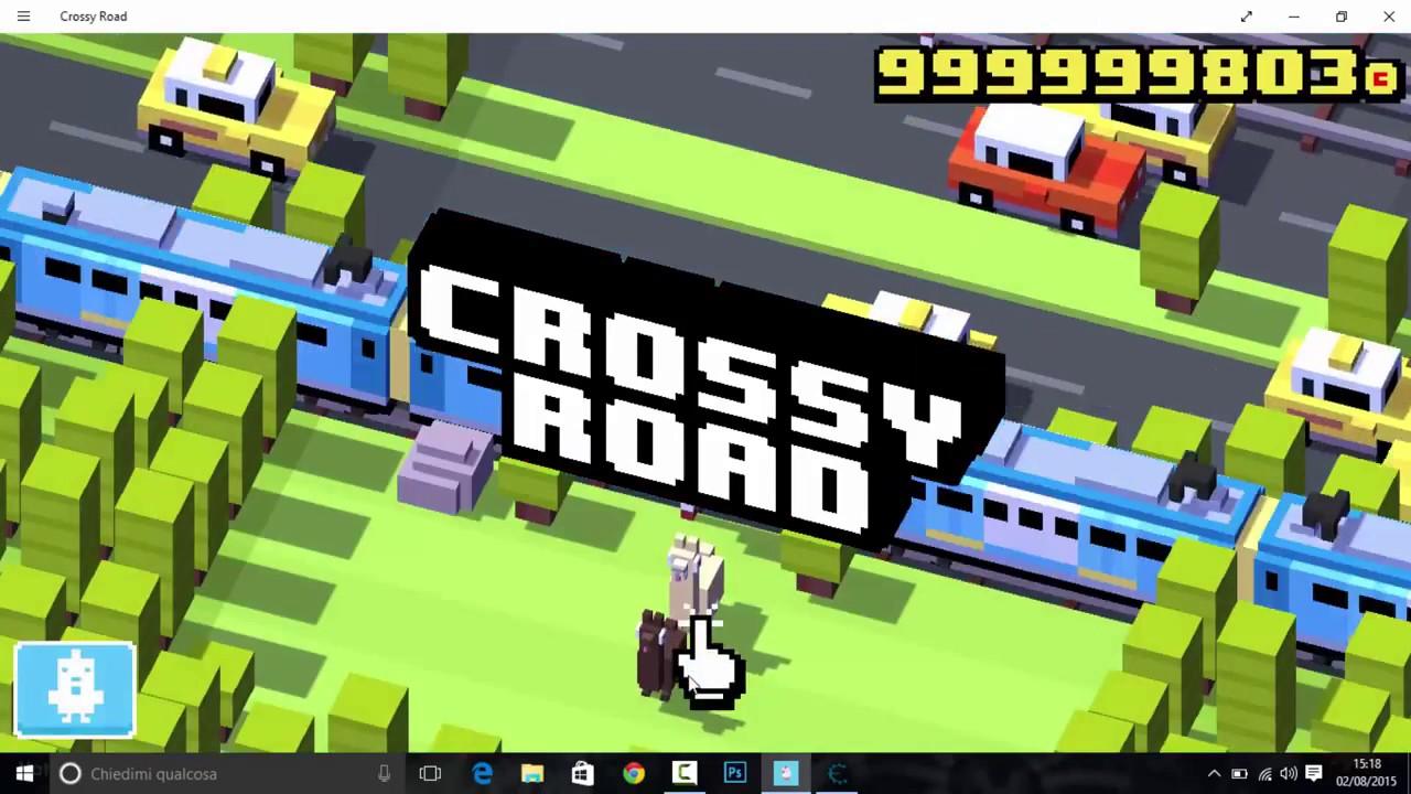 crossy road windows 10 hack