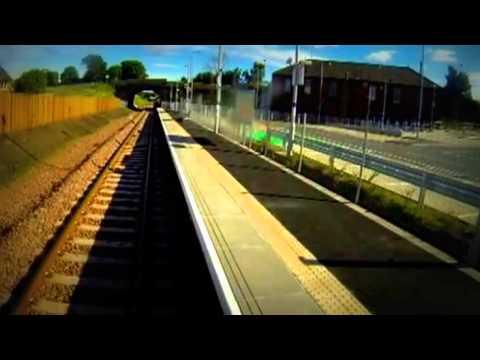 Edinburgh to Tweedbank on Borders railway line in minutes   BBC News