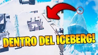 NEW BUG to ENTER THE ICEBERG in FORTNITE!! 🚫😱