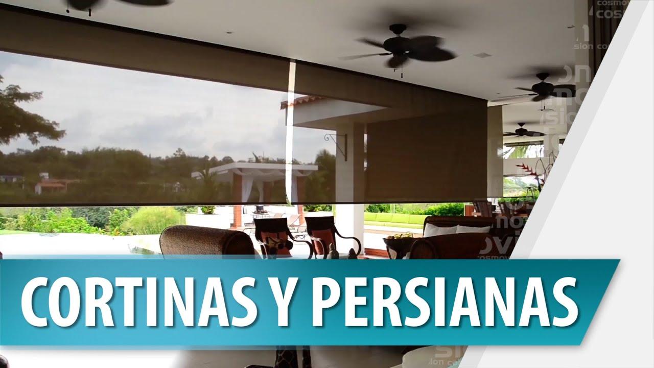 Decoraci n con cortinas y persianas youtube - Persianas y cortinas ...