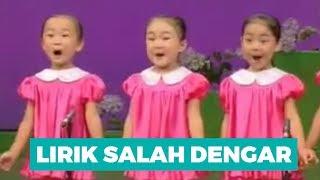 LIRIK SALAH DENGAR ANAK KOREA - OH KASIHKU KITA HARUS CERIA [ flaminkgosh Fun Video ]