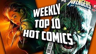 Hot Top 10 Comic Books On The Rise - FEB (Week 4) 2019
