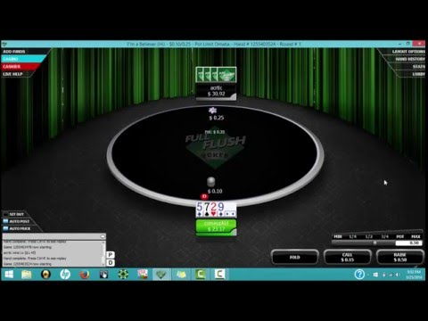 small stakes plo heads up poker