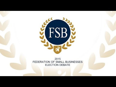 FSB Cymru Election Debate 2015