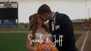 Jeff & Sarah - Fun Baseball Themed Wedding Film at Ripken Stadium in Aberdeen, Maryland
