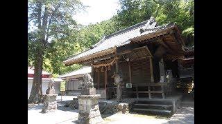 白瀧(しらたき)神社・・京都から織物技術を伝えてくれた白瀧姫・・桐生/群馬