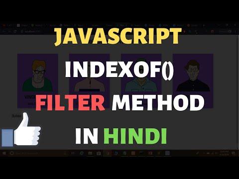 JavaScript String IndexOf() Method in Hindi thumbnail