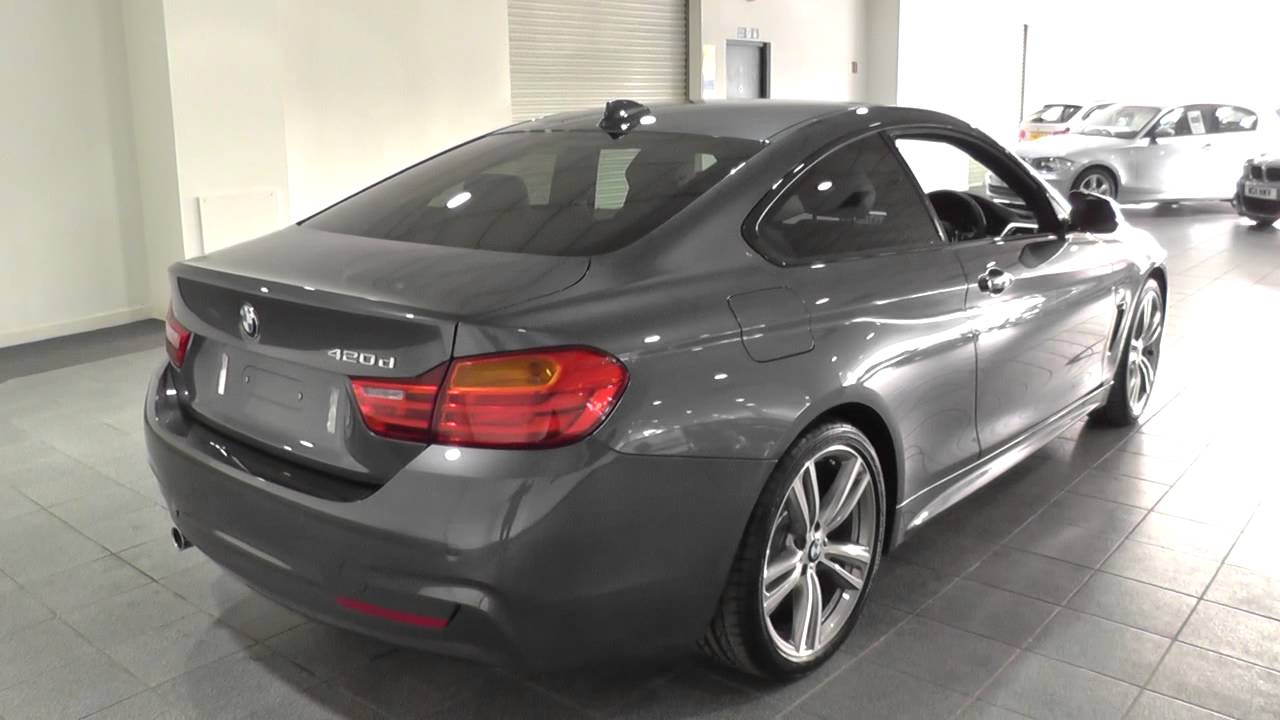 bmw 4 series 420d m sport 2dr auto u3753 youtube. Black Bedroom Furniture Sets. Home Design Ideas
