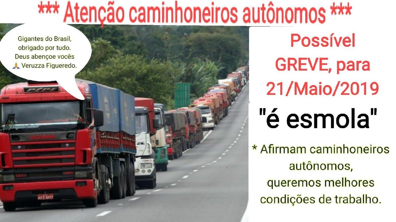 Resultado de imagem para greve de caminhoneiros 2019