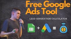 Google Ads Lead Generation Calculator
