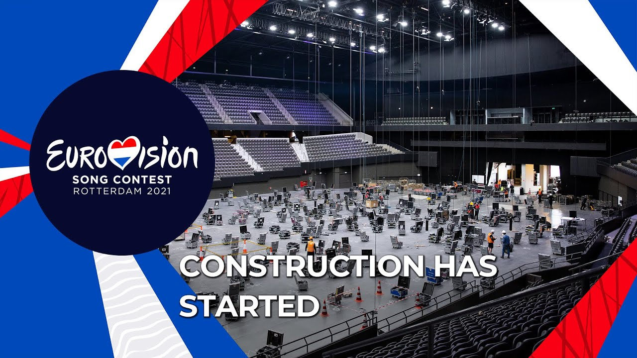 Construction for Eurovision 2021 has started in Rotterdam Ahoy