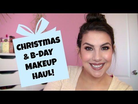 Christmas & Birthday Makeup Haul!
