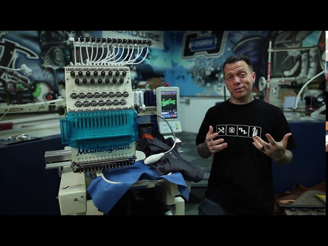 Meistergram at West Coast Customs | Best Commercial Embroidery Machines