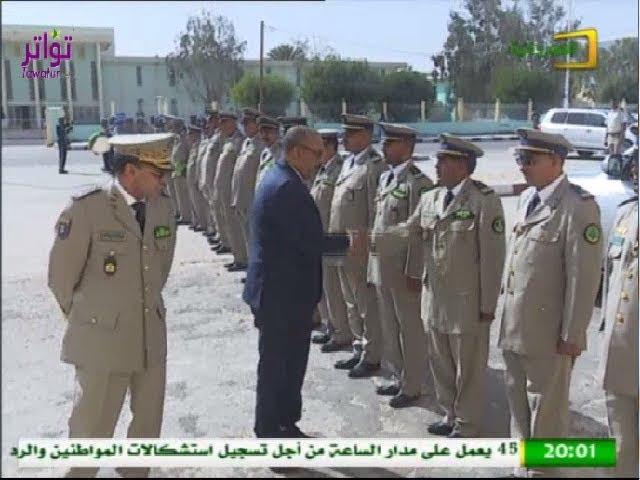 اختتام الأسبوع الثقافي والرياضي المنظم من طرف قيادة أركان الحرس الوطني - قناة الموريتانية
