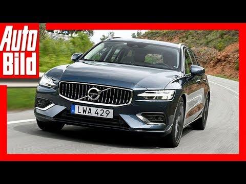 Volvo V60 (2018) Erste Fahrt/Details/Review